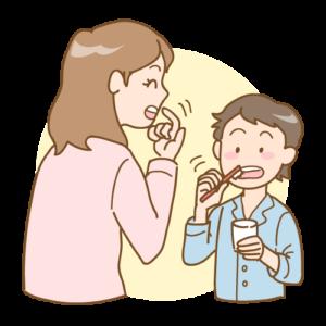 歯磨きチェック